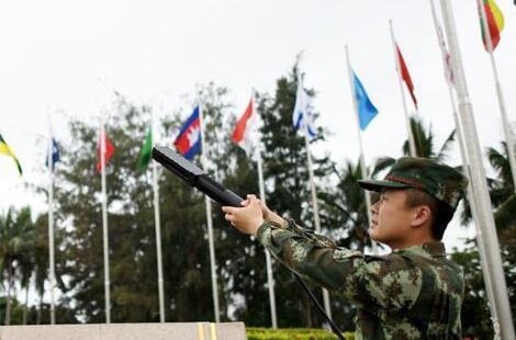 海南武警科技備戰博鰲亞洲論壇2017年年會安保工作