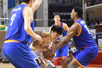 2017中國陵水全國頂級職業籃球聯盟對抗賽開賽