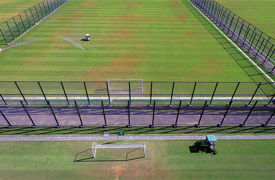 中國足球(南方)訓練基地爭取明年完成一期建設