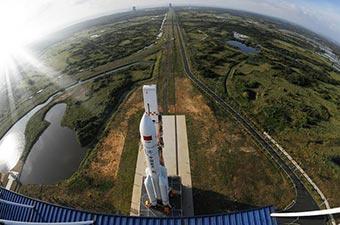長徵五號遙二運載火箭飛天