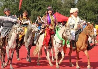 江格爾文化旅遊節·那達慕大會開幕式