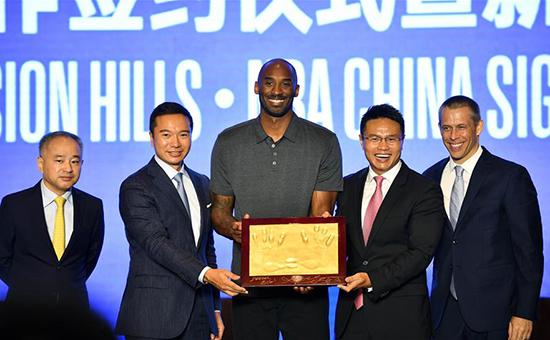 觀瀾湖集團與NBA中國將共建NBA籃球訓練中心