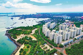 洋浦濱海公園建成萬人應急避難所