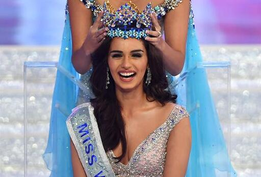 印度小姐馬努希·奇希拉獲世界小姐桂冠