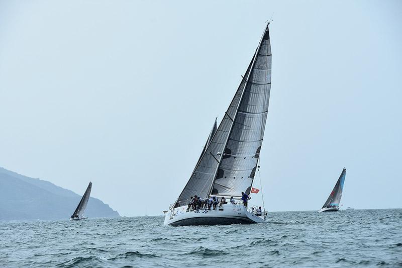 2018环海南岛国际大帆船赛开幕