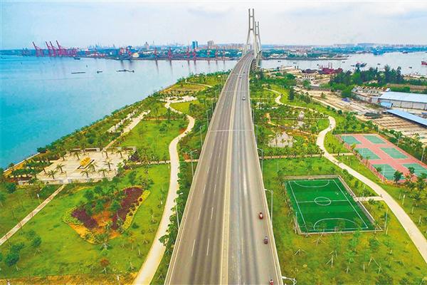 儋州滨海新区:大桥公园 健身乐园
