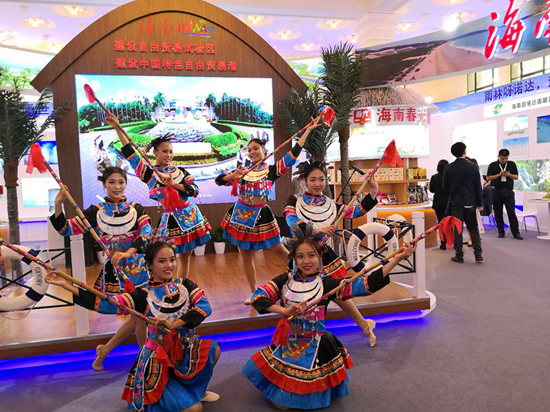 天涯海角游览区亮相首届中国自主品牌博览会