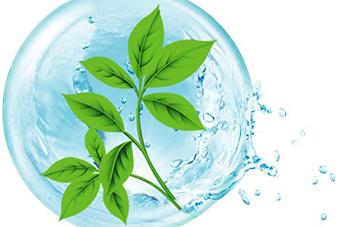 鹿城建设花园式污水处理设施