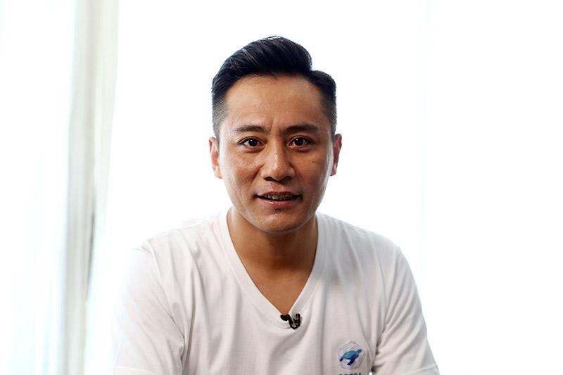 """对话""""中国水生野生动物保护公益形象大使""""刘烨"""