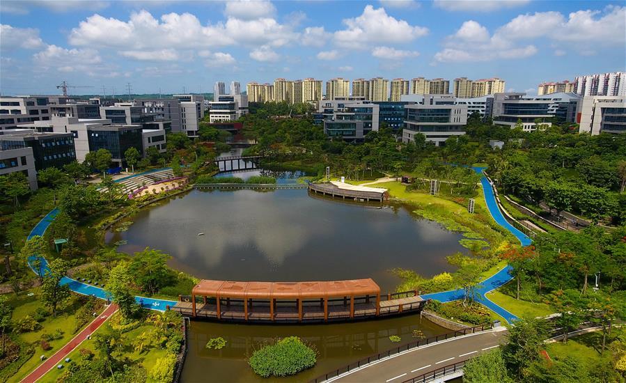 海南生態軟件園:廣築良巢引鳳來