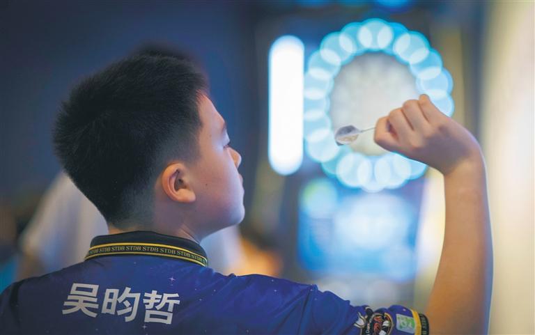 全国中小学生飞镖集训暨锦标赛在海口举行