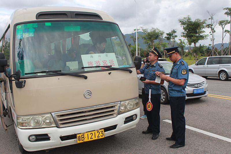 海南开展2018年净化旅游客运市场专项整治行动