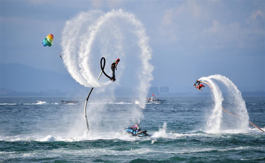 2018海南亲水运动季拉开序幕 打造水上运动天堂