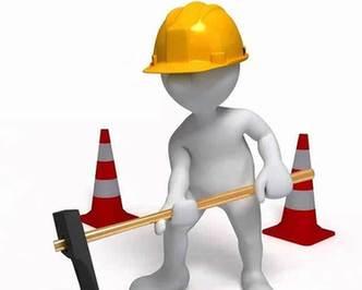 海口海達路部分路段應急維修 實施半幅封閉
