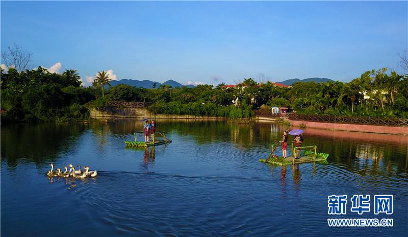 VR視覺帶您看三亞的時尚新農村——中廖村
