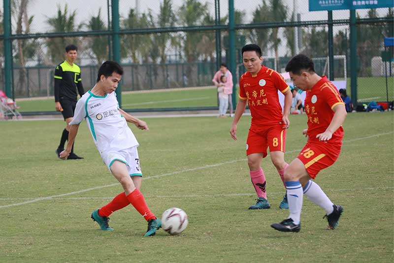 中南財經政法大學海南火槍手第三屆足球聯賽開幕
