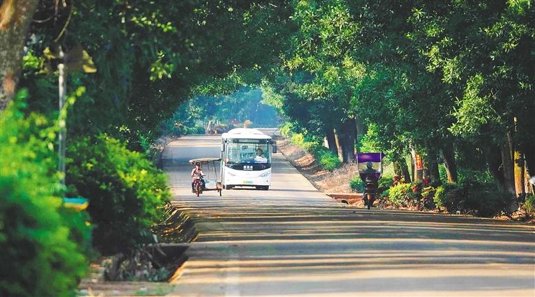 完善農村客運網絡打通公交最後一公裏