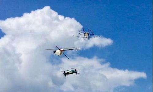 无人机成我省大气环保执法利器