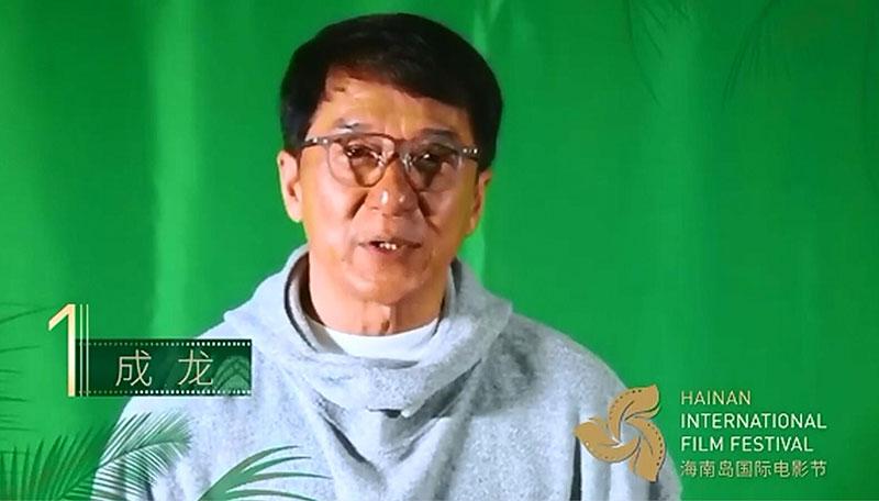 众星送祝福海南岛国际电影节