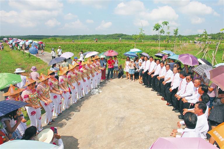 儋州光村鎮:悠悠調聲傳千古