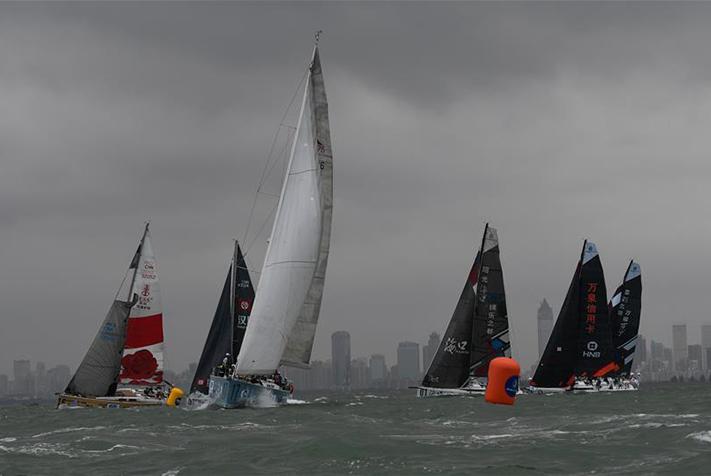 帆船——2018環海南島國際大帆船賽開幕