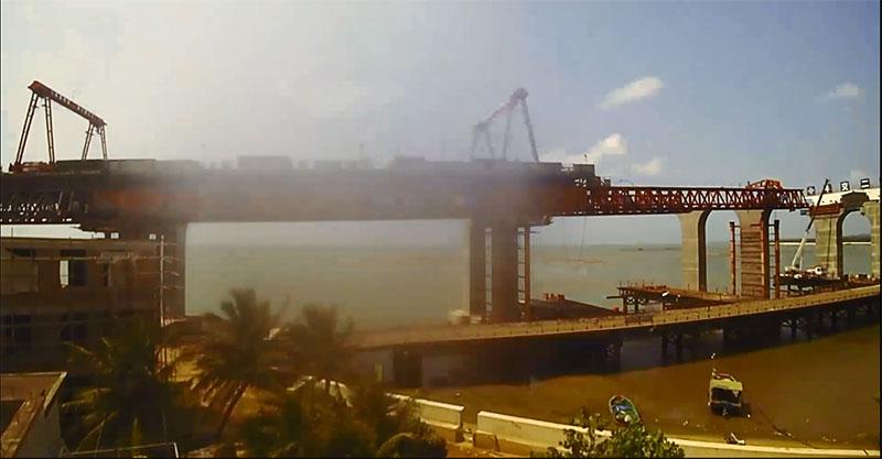 短視頻回顧:海文大橋建設歷程