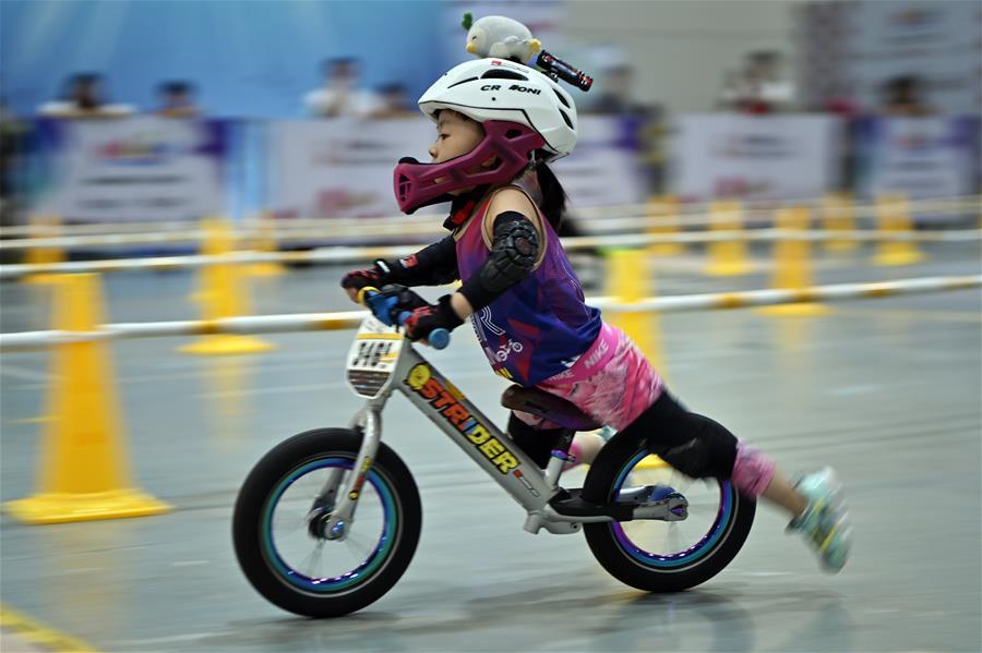 亞洲兒童平衡車錦標賽在海口舉行