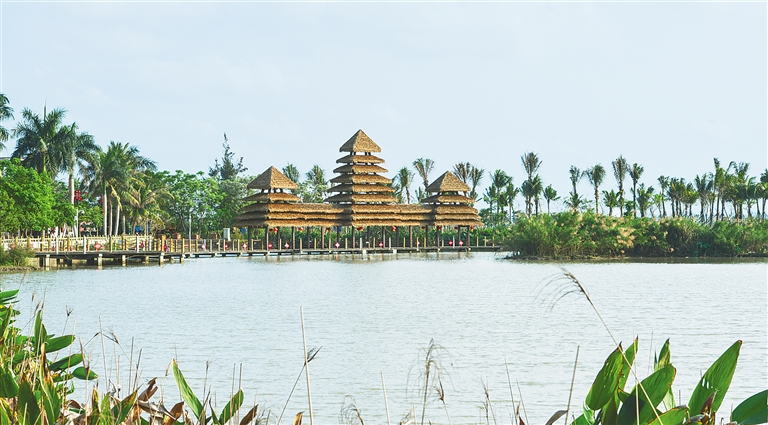 海口歷史文化名村高山村:村在園裏 家在景中