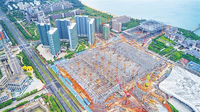 海南國際會展中心二期 打造綠色智能會展場館