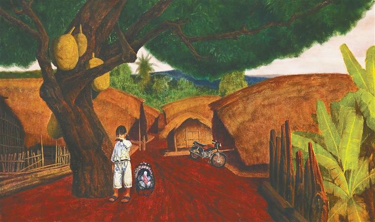 海南美術創作靠積淀贏得突破