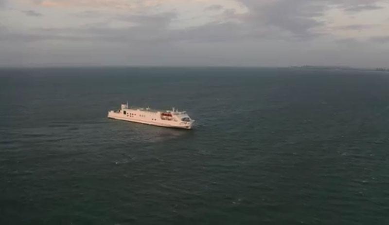 你知道臺風期間 粵海鐵船舶如何避風嗎?