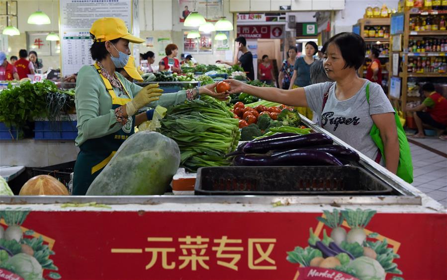 海口:多措並舉保障節日菜蔬供應