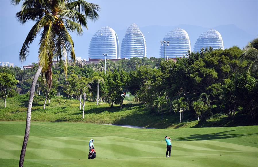高爾夫——2019海南公開賽暨歐洲挑戰巡回賽開桿
