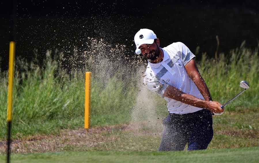 高爾夫 2019海南公開賽暨歐洲挑戰巡回賽第三輪賽況