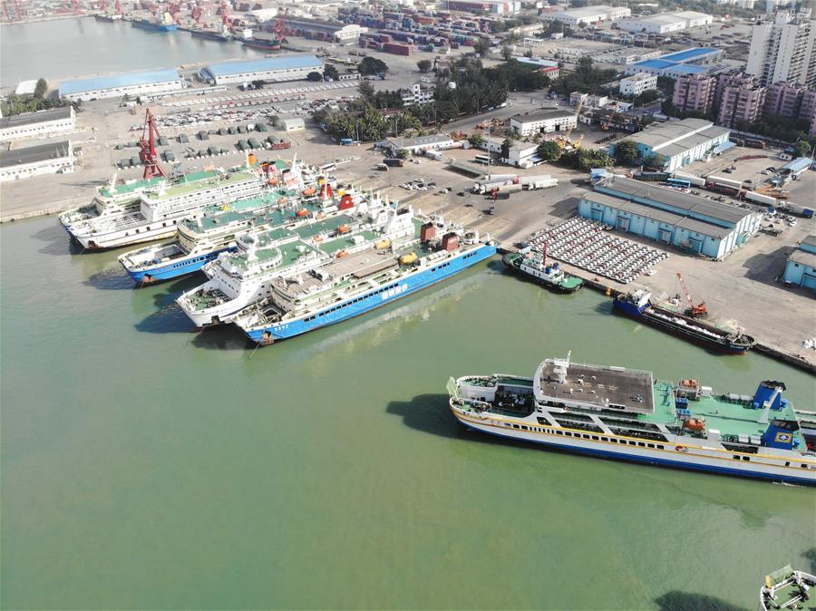 海南:檢修船舶保春運