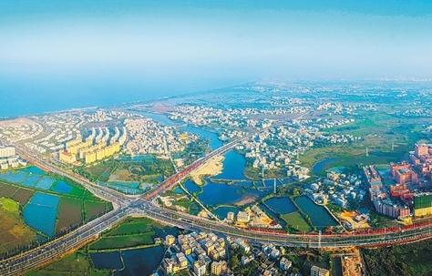 海口江東:全速構建大小動脈 撐起跨越發展宏圖
