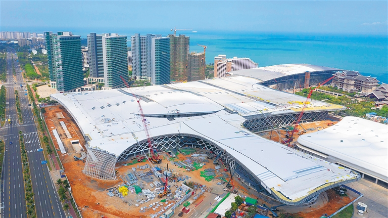 海南國際會展中心二期項目讓海南會展業大有可為
