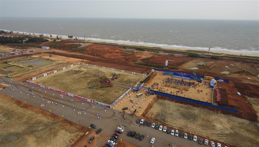 海南自由貿易港建設項目集中開工和簽約儀式舉行