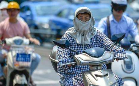 海南:37℃高温依然不降 部分市县将达40℃