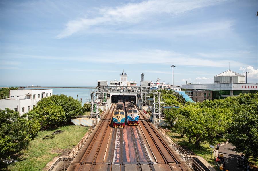 海南鐵路輪渡自7月1日起日均開行航班增至16對