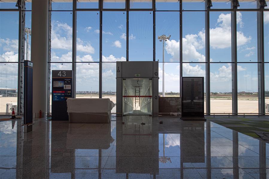 海口美蘭國際機場二期項目主體工程完工