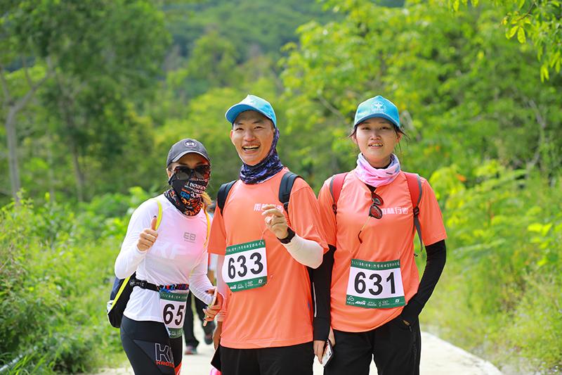 2020海南(瓊中)熱帶雨林穿越挑戰賽開賽