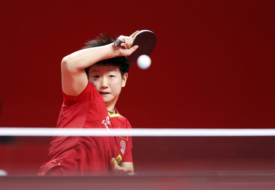 乒乓球——奧運模擬賽:女子一團獲女團冠軍