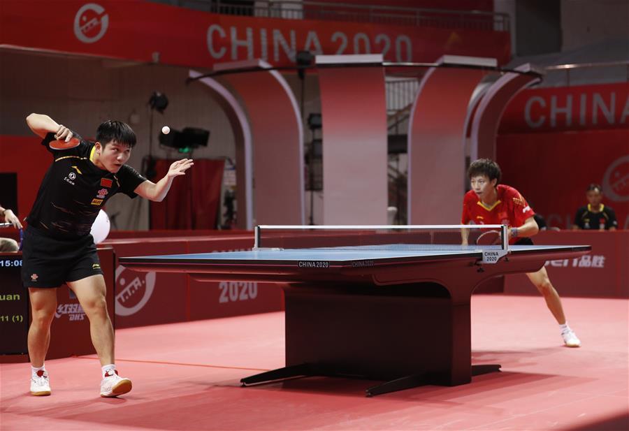 國乒奧運模擬賽男一團奪冠