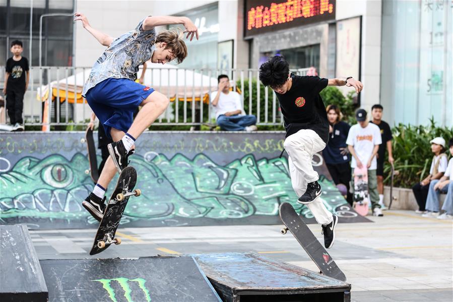 全民健身——趣味滑板樂享周末