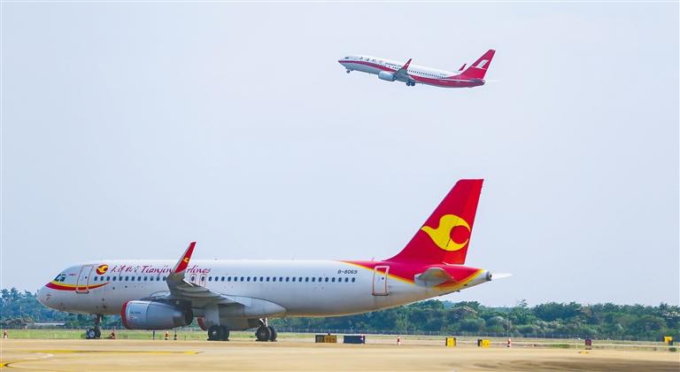 海南將迎航空客流旺季