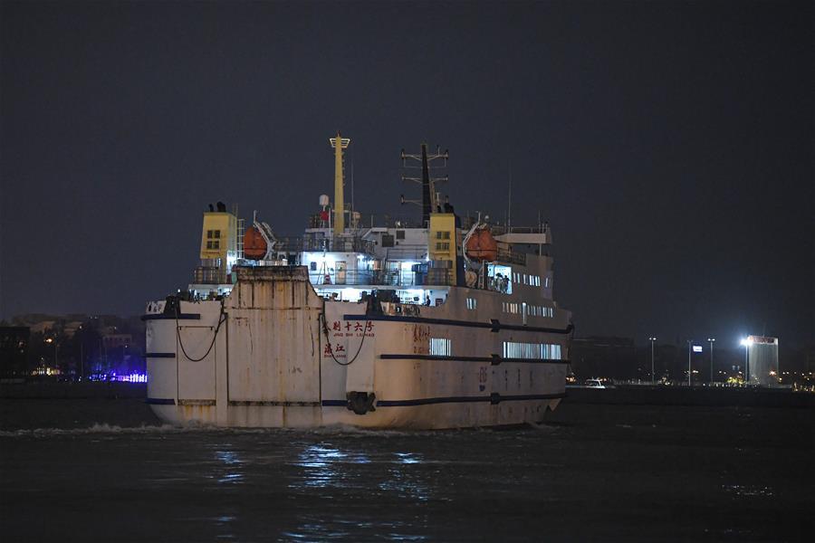 瓊州海峽部分恢復通航