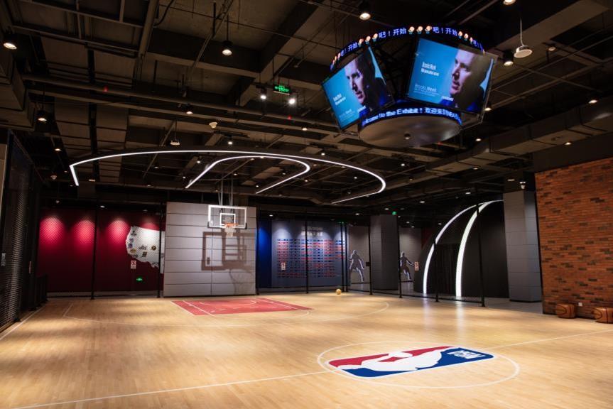 海口觀瀾湖NBA籃球訓練中心即將開放