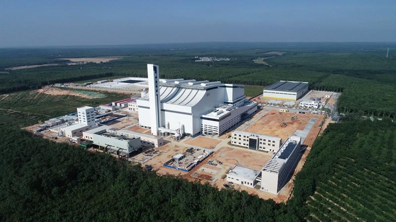 儋州垃圾發電廠投運 年發電量超1億度