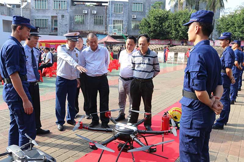 海南臨高:消防宣傳進行時 關心群眾促安心